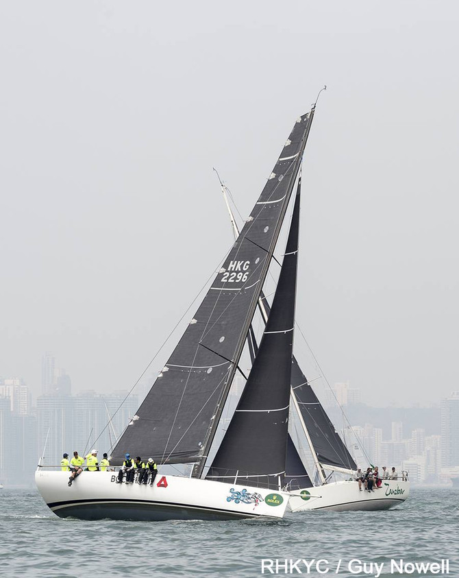 Rolex China Sea Race 2018 - Alive leads IRC 0 and Seawolf leads IRC 1MOD Beau Geste 號即將抵達菲律賓 Alive號在