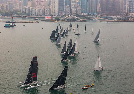 Rolex China Sea Race 2018 And They're off!勞力士中國海帆船賽 2018正式啟航!