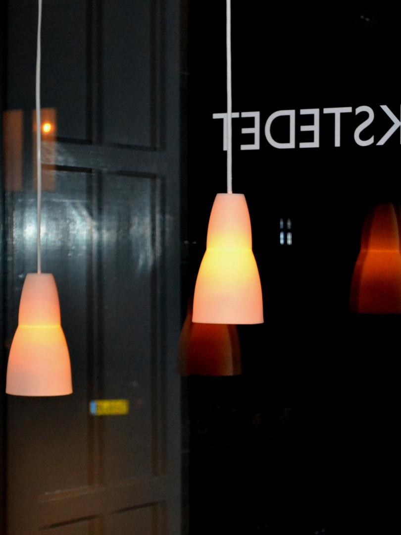 Slank/høj lampe