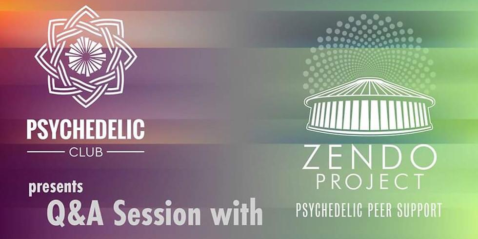 Psychedelic Club asks Zendo