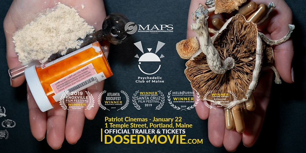 DOSED Screening and Q&A- Portland, Maine