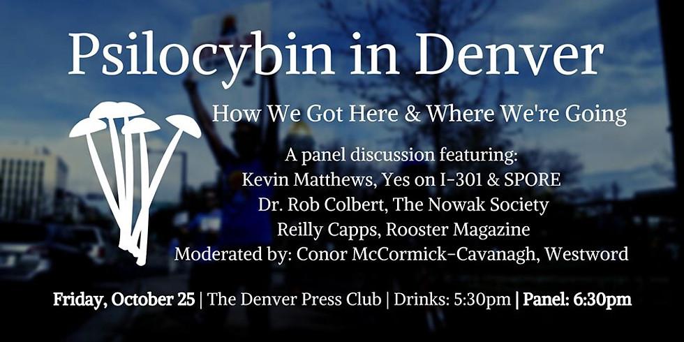 Panel: Psilocybin in Denver