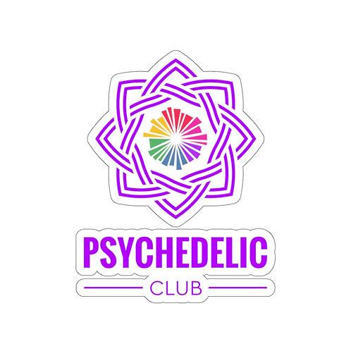 Psychedelic Club Sticker