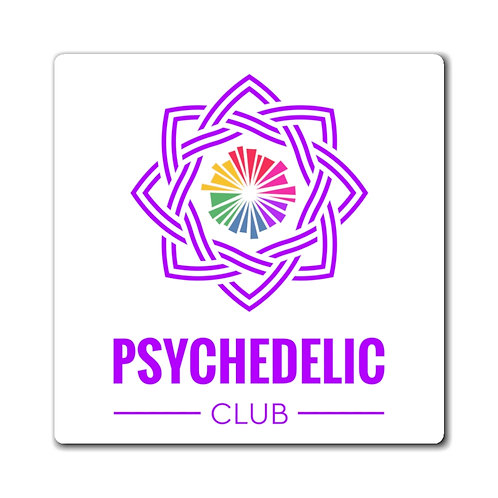 Psychedelic Club Magnet