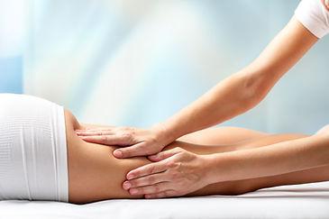 massage arrière du dos et des jambes