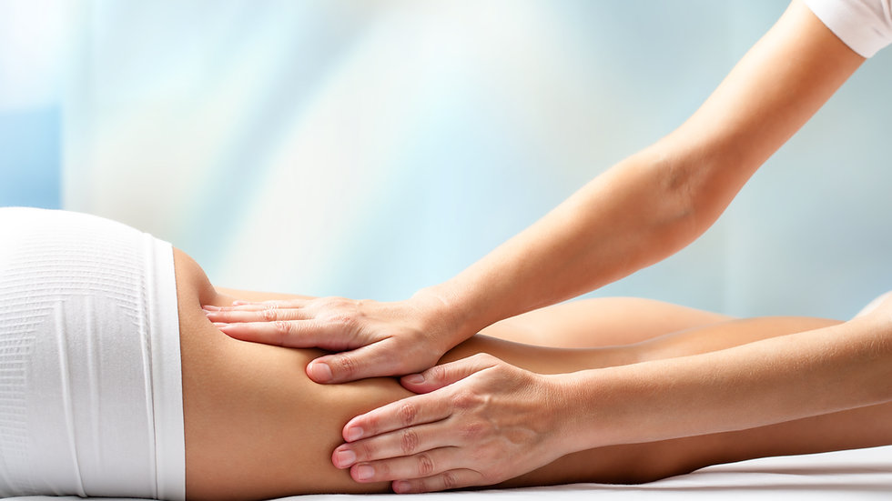 Medical Lymphatic Drainage Massage with Essential Oils