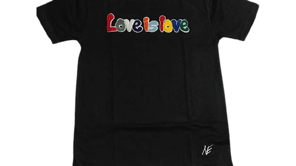 Love is Love multi color t-shirt