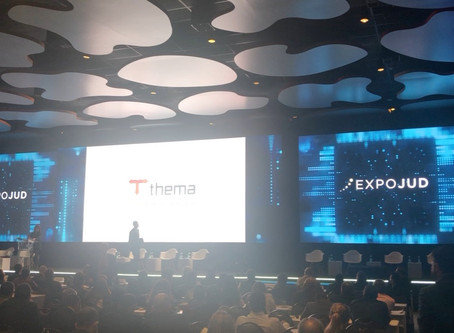 Thema participou como patrocinadora do EXPOJUD 2019, em Brasília/DF