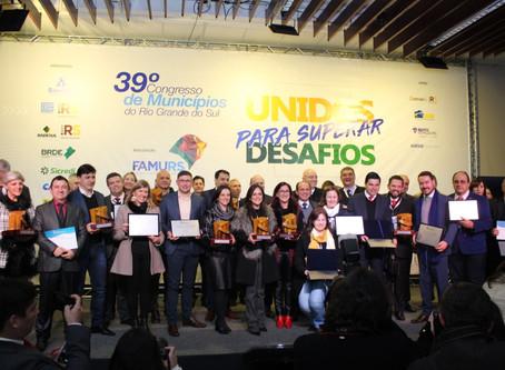 Municípios clientes Thema estão entre os vencedores do 3º Prêmio Boas Práticas Famurs