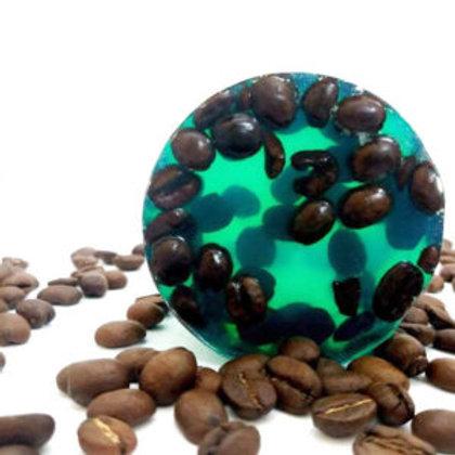 Σαπούνι για την κυτταρίτιδα με κόκκους καφέ