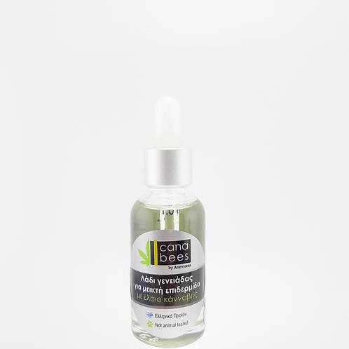 Beard oil - λάδι για γένια με έλαιο κάνναβης