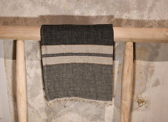 Face à face en fibre de lin