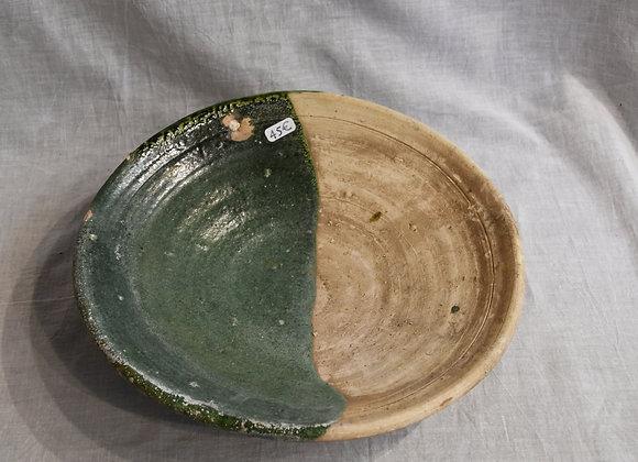 Grand plat bicolore Tamegroute