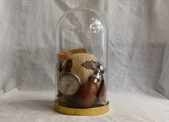 Cloche en verre tensiomètre