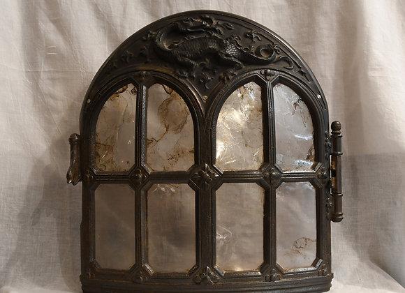 Ancienne porte en fonte