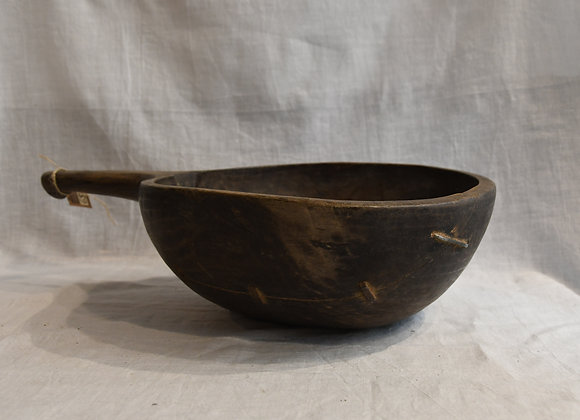 Cuillère à farine ancienne grand modèle