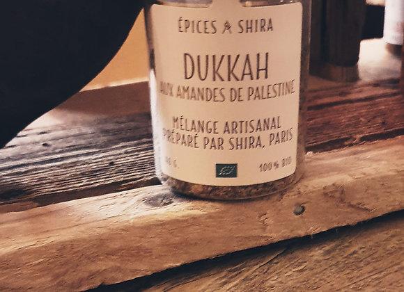 Dukkah aux amandes de Palestine