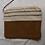 Thumbnail: Pochette lin laine et cuir