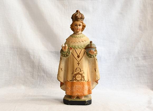 Statuette religieuse en platre