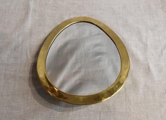 Petit miroir Laiton Marocain