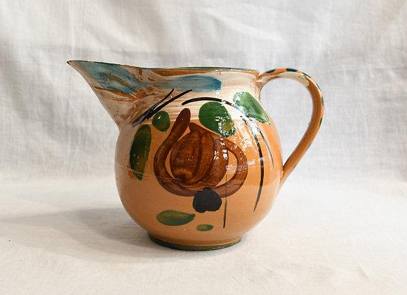 Pichet en céramique peinte à la main