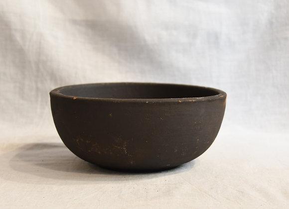 Bol en céramique  noire