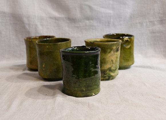 Gobelet en céramique Tamegroute