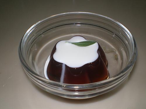 甜菊養生品茶凍