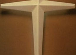 Tapered Wall Crosses