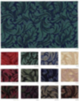 Foliage Fabric Samples