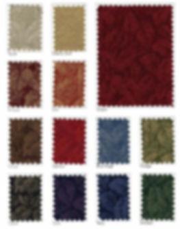 Bonaire Fabric Samples