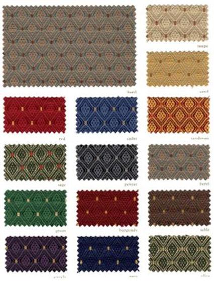 Canterbury Fabric Samples