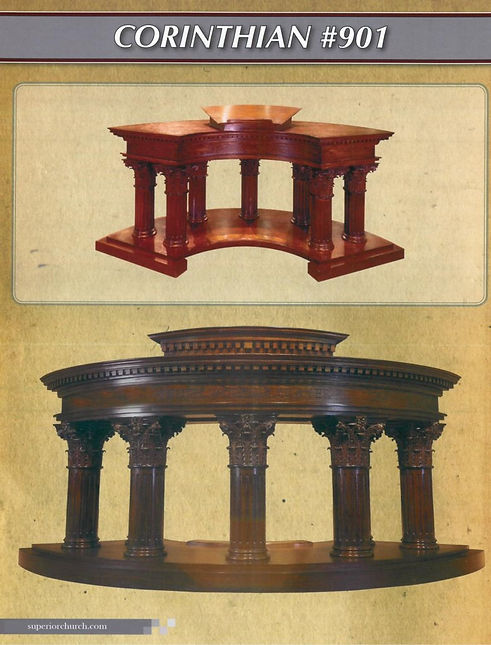 Corinthian Chancel Furniture
