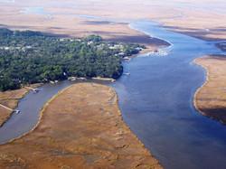 The Northern Tip of St Simons Island