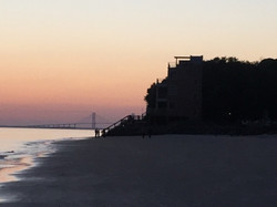 St. Simons Island Beach Sunset