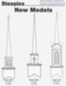 Church Steeples by Size