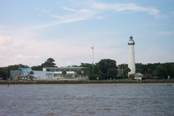 Casino and Lighthouse St. Simons Isl