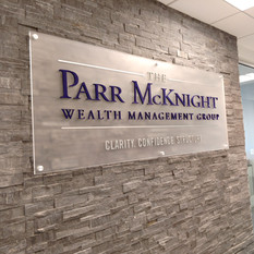 PARR Reception Sign