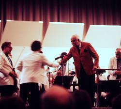 Picasa - Adam Han-Gorski shaking hands with the legendary Arthur Fiedler