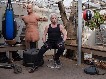 Adam in the patio gym.jpg