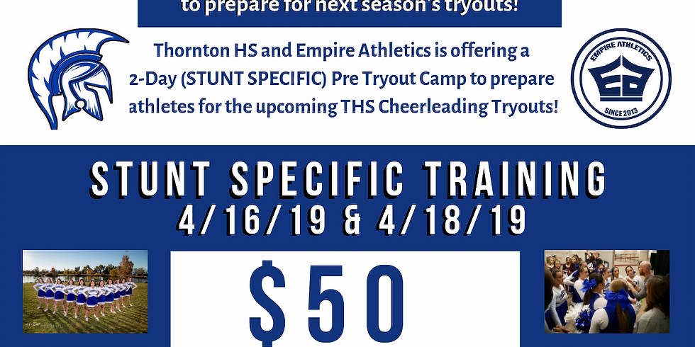 Thornton Pre-Tryout Camp
