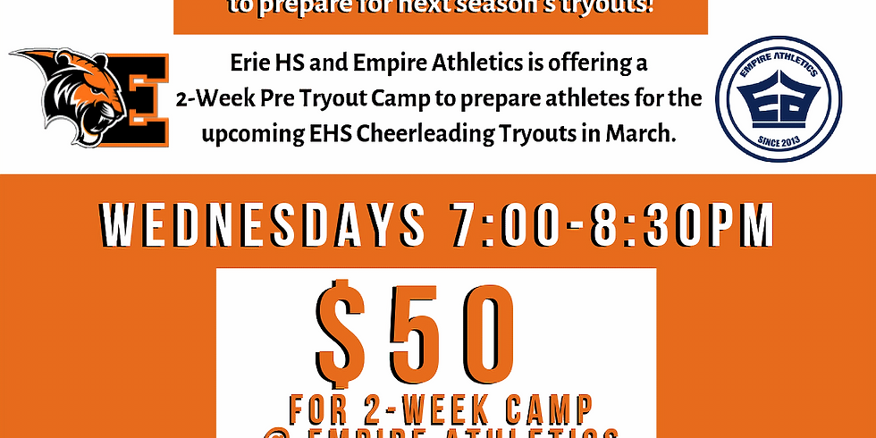 Erie Pre-Tryout Camp