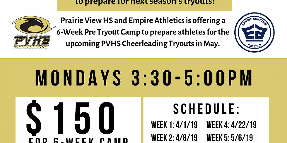 Prairie View Pre-Tryout Camp