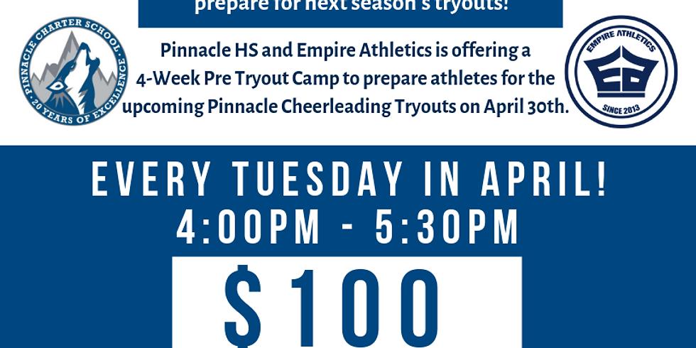 Pinnacle Pre-Tryout Camp