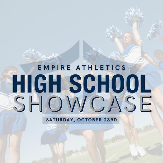 High School Showcase - Team Registration