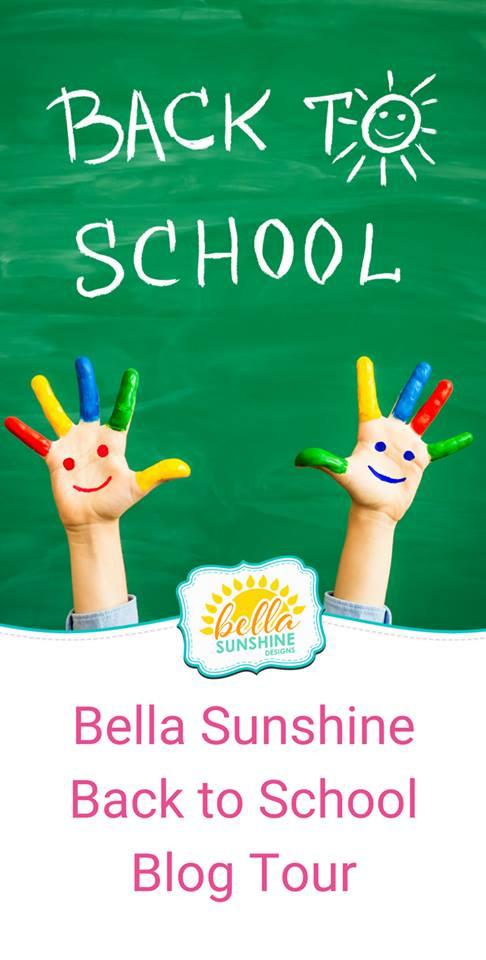 Back To School with Bella Sunshine Designs