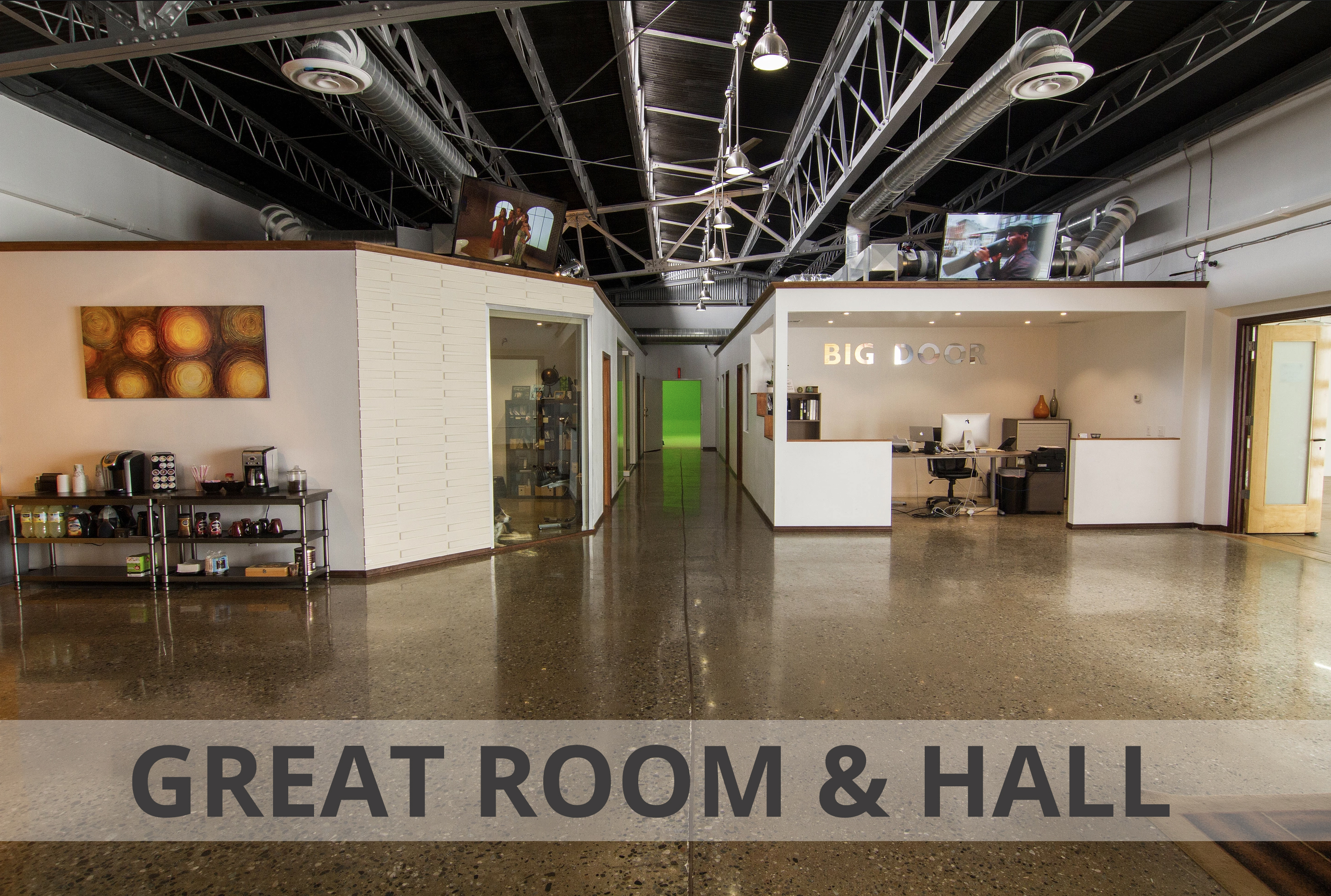 Great Room and Hall