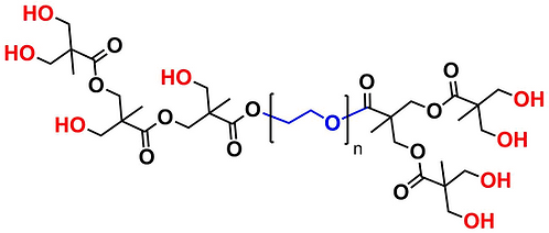 Hyperbranched bis-MPA PEG 20k, Hydroxyl Functional, Generation 2