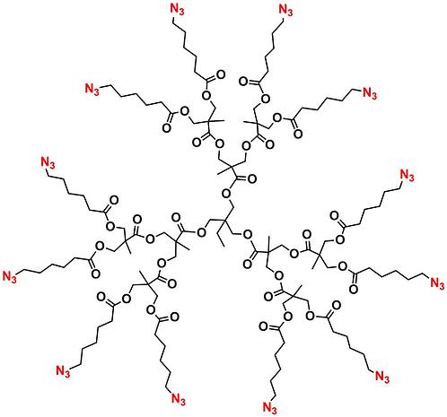 Bis-MPA Azide Dendrimer, Generation 2, TMP Core