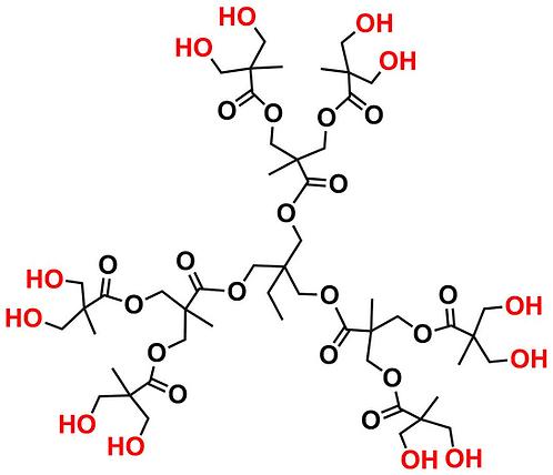 Bis-MPA Hydroxyl Dendrimer, Generation 2, TMP Core